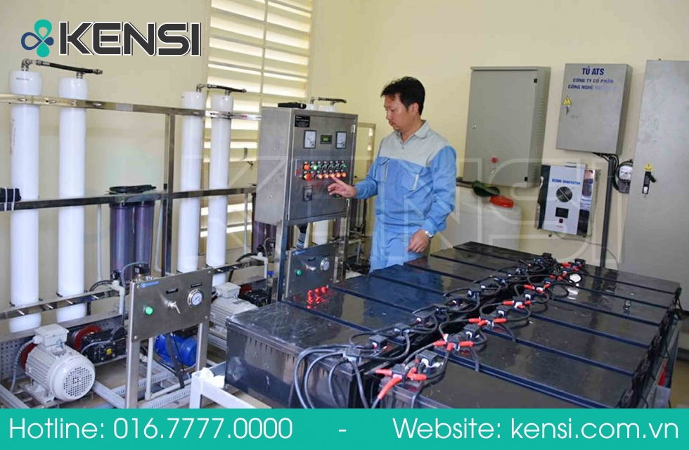 Lắp đặt máy lọc nước công nghiệp trên địa bàn Quảng Ninh