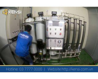 Lắp đặt hệ thống lọc nước RO công nghiệp công suất 1000 L/h cho Công Ty MULSUGUN