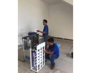 Hệ thống lọc nước tại trường mần non Hoa Phượng