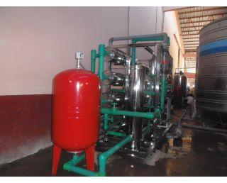 Thi công lắp đặt hệ thống lọc RO xử lý nước tại nhà máy Chaicheron -Thái Lan 7000 l/h
