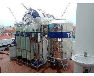 Thi công lắp đặt hệ thống lọc thô tại Bắc Giang công suất 13 000 L/H