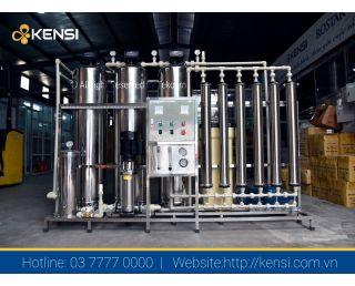 Hệ thống lọc nước tinh khiết RO công suất 1500 L/H lắp đặt tại thị trấn Tam Đảo