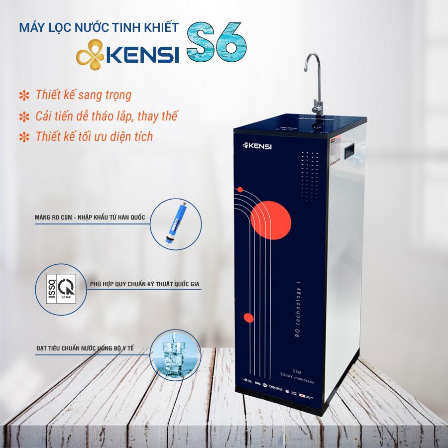 Máy lọc nước tinh khiêt RO S6