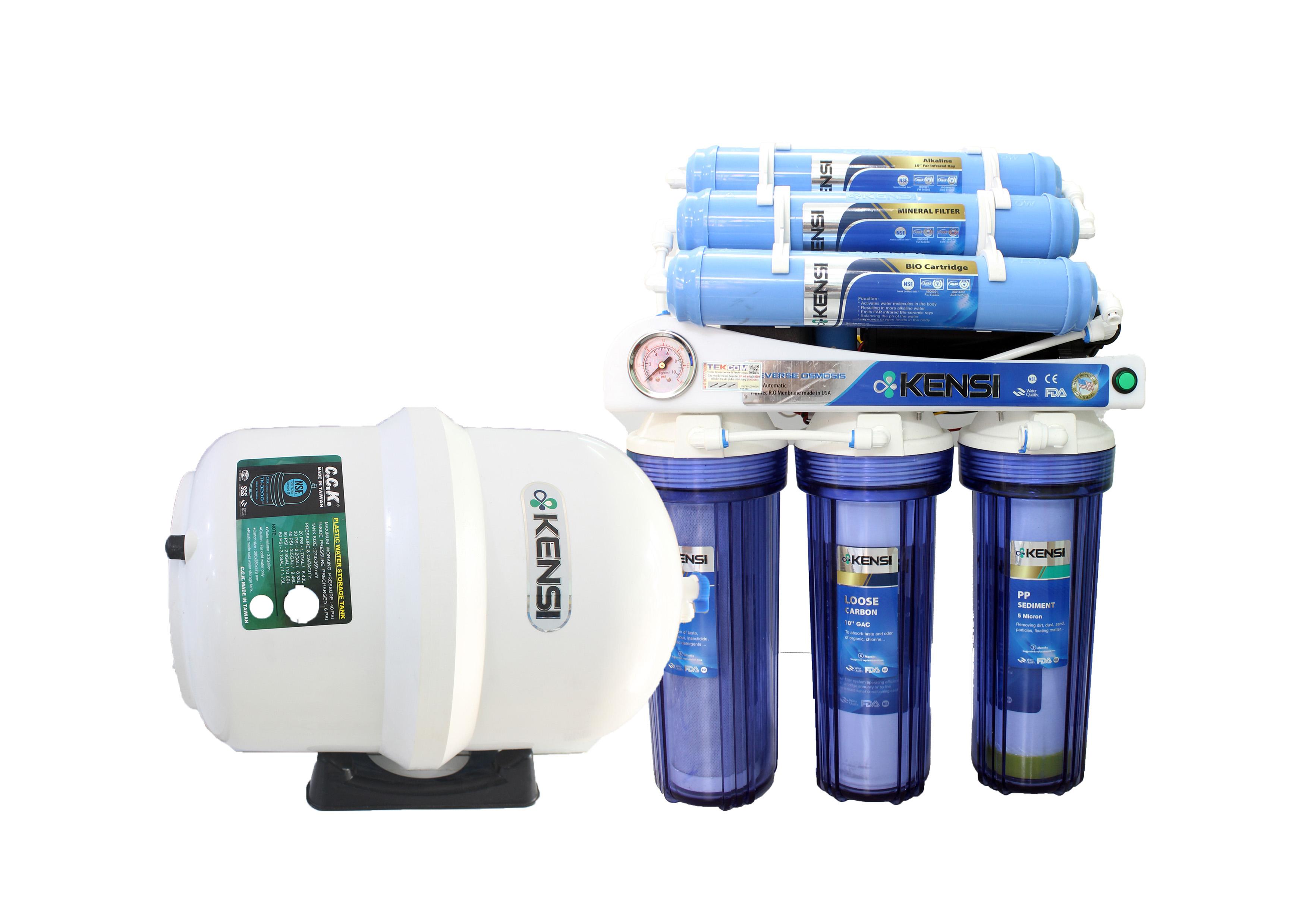Đảm bảo sản phẩm máy lọc nước đúng hãng, mang lại chất lượng nước ngọt đạt tiêu chí