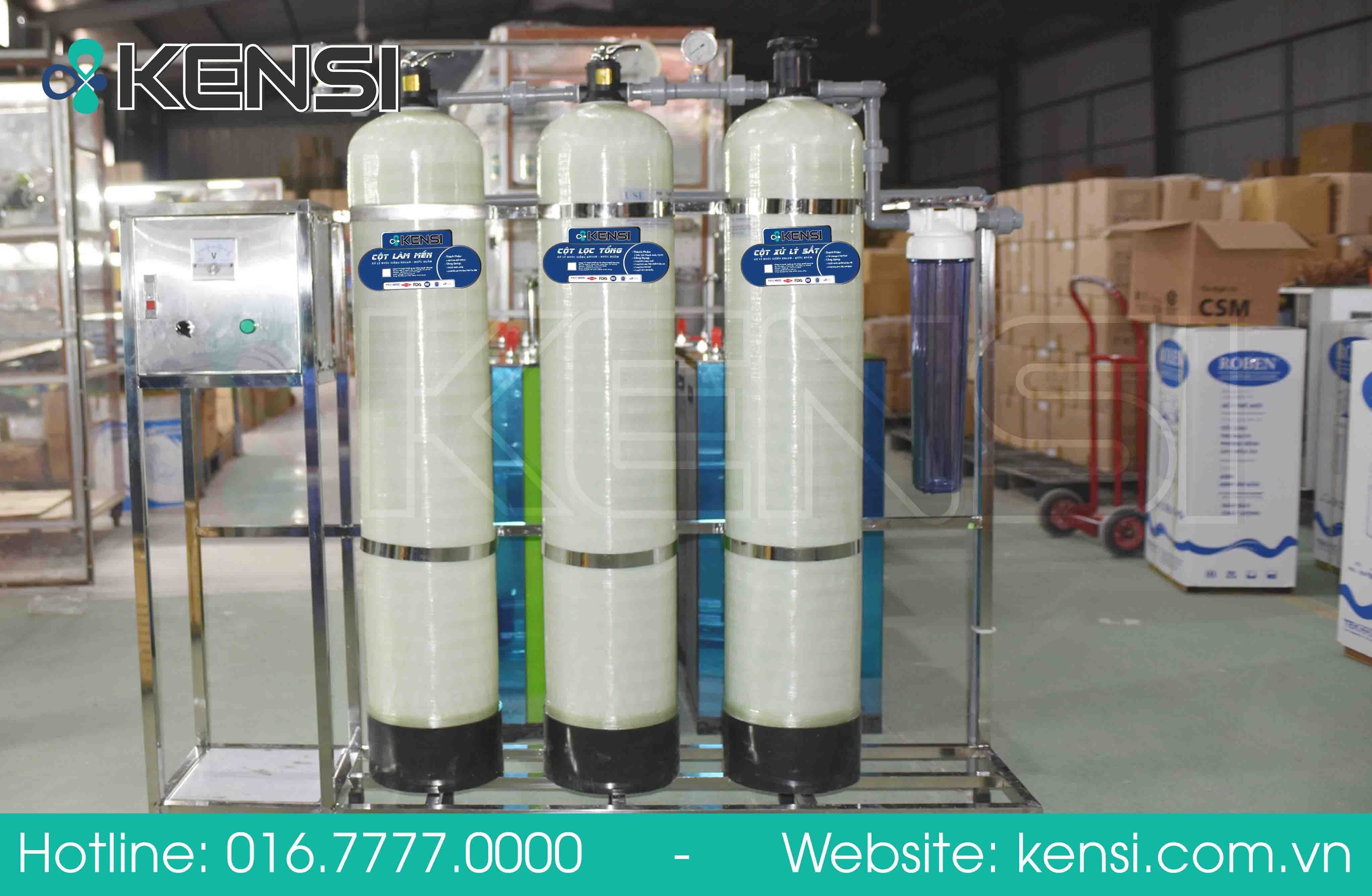 Cam đoan máy lọc nước đạt chuẩn, mang tới nguồn nước sạch đạt tiêu chuẩn