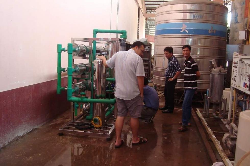 Cung cấp hệ thống lọc nước biển tại Thái Bình